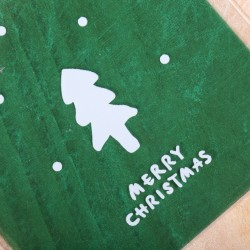 Green Merry Christmas Koekzakjes