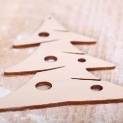 Decorative stencil Christmas tree