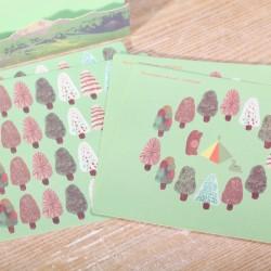 Autumn decoration stickers