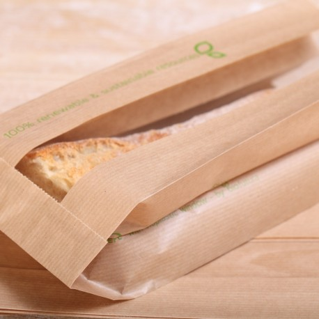 Recycled  paper bread bags