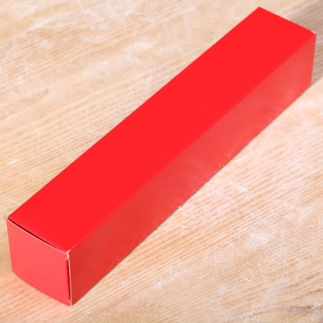 Tube box red