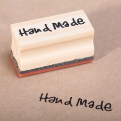 Wooden stamp  Hand Made