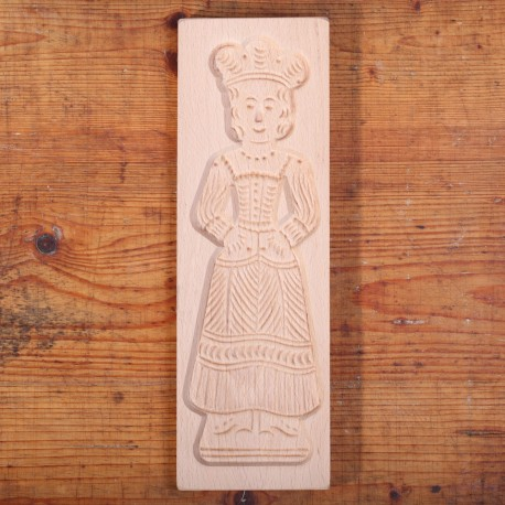 Wooden cookie mold Baker's Wife