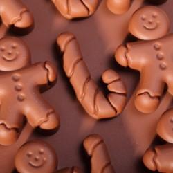Gingerbread chocolade vorm