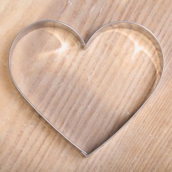 Cookie cutter - Big Heart 8.7 cm