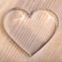 Koekjes uitsteekvorm -  Groot hart 8,7 cm