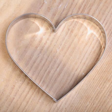 Koekjes uitsteekvorm -  Groot hart
