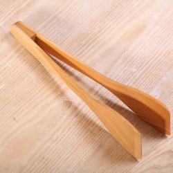 Serving tongs cherry wood