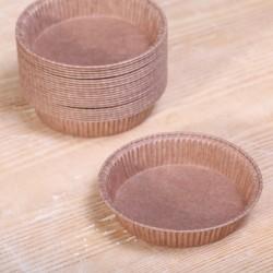 Paper pie molds round 7.5 cm