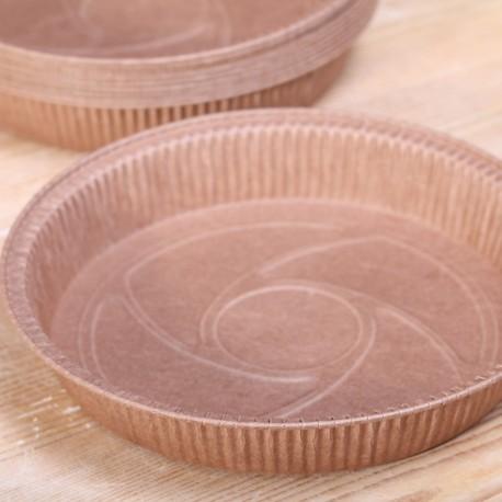 Paper pie molds round 20 cm