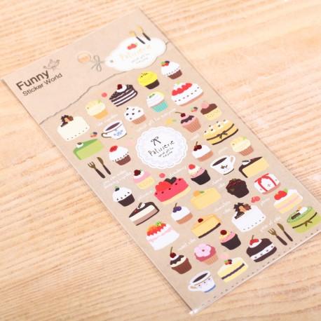 Taart decoratie stickers
