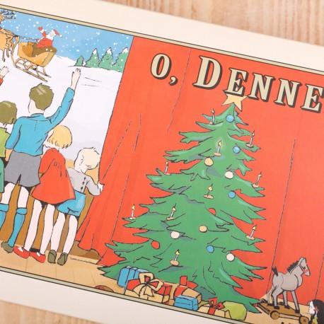 Doos voor kerststol Classic Christmas