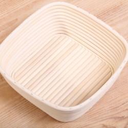 Rijsmandje van riet - 750g Vierkant