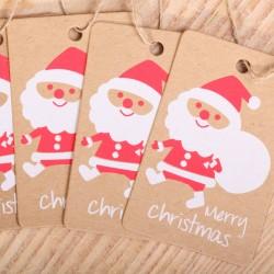 Santa gift tags