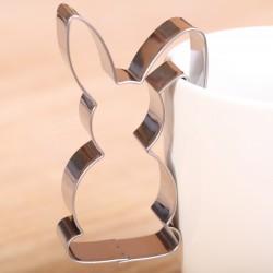 Koekjes uitsteekvormpje -  Haasje hang aan kopje