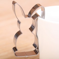 Koekjes uitsteekvormpje -  Haasje met haak-oor