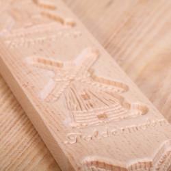 Speculaasplank met drie molens 46.5 cm
