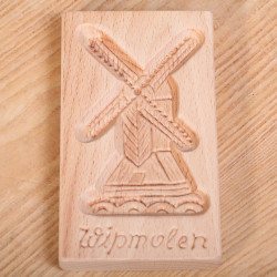 Cookie mold with Windmill 'Wipmolen' 15  cm