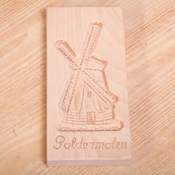 Cookie mold Windmill 'Poldermolen' large 23.5 cm