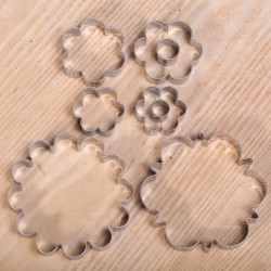 Cookie cutter set - Flowers