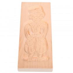 Speculaasplank Volendamse jongen beuken 32 cm