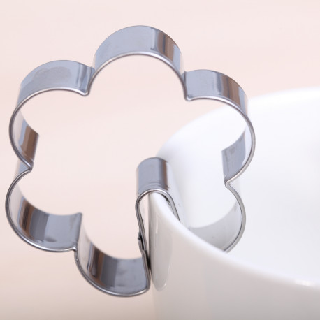 Cookie cutter - Flower hang on cup