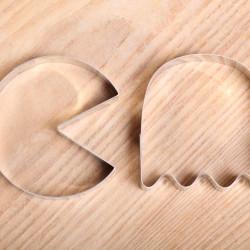 Cookie cutter set- Pac-man