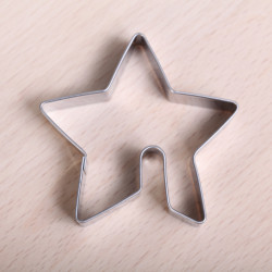 Cookie cutter - Star hang on cup