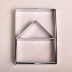 Cookie cutter set - Little Cottage