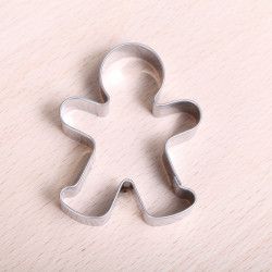 Cookie cutter - Gingerbread Man  6 cm