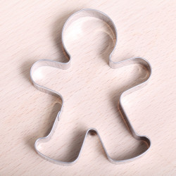 Cookie cutter - Gingerbread Man large 9 cm