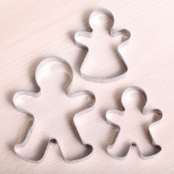 Cookie cutter set Gingerbread