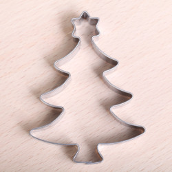 Cookie cutter - Christmas Tree with Star on top
