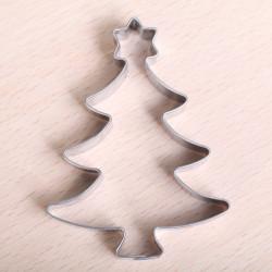 Koekjes uitsteekvormpje -  Kerstboom met ster