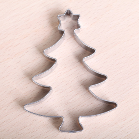 Cookie Cutter Christmas.Cookie Cutter Christmas Tree With Star On Top