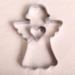 Koekjes uitsteekvorm -  Engel met hartje