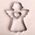 Koekjes uitsteekvormpje -  Engel met hartje