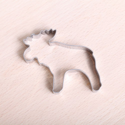 Cookie cutter - Moose 6 cm