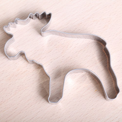 Cookie cutter - Big Moose 9 cm