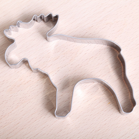 Cookie cutter - Big Moose 9 cm