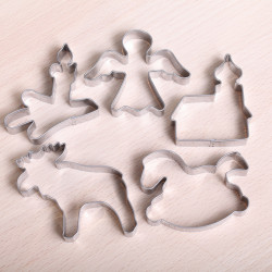 Cookie cutter set- Winter Wonderland