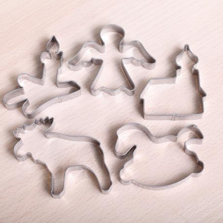 Cookie cutter set- Winter Wonderland