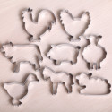 Cookie cutter set- Farmyard Animals