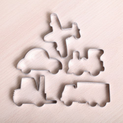 Cookie cutter set - Transport