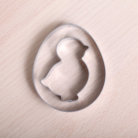 Cookie cutter set - Chick & Egg