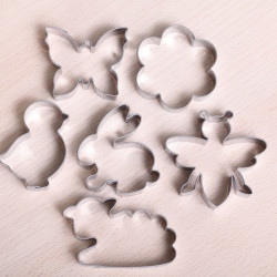 Cookie cutter set - Springtime
