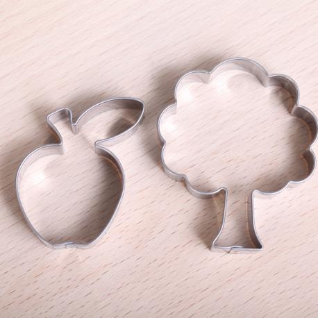 Cookie cutter set - Apple & Tree