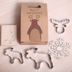 Gift set 'Merry Moose'