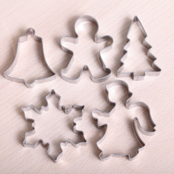 Cookie cutter set- Christmas Tradition