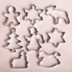Cookie cutter set- Winter Cookie Fest